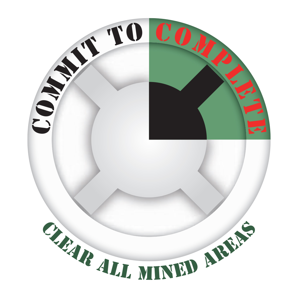 clear all mined areas
